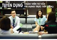 Nhân Viên Tư Vấn Tín Dụng FE-CREDIT (Telesales) lương 9-20 Tr/th