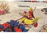 Virus corona - Covid-19: Coronavirus là tên của nhân vật phản diện trong truyện tranh Asterix của Pháp đã ra mắt vào năm 2017